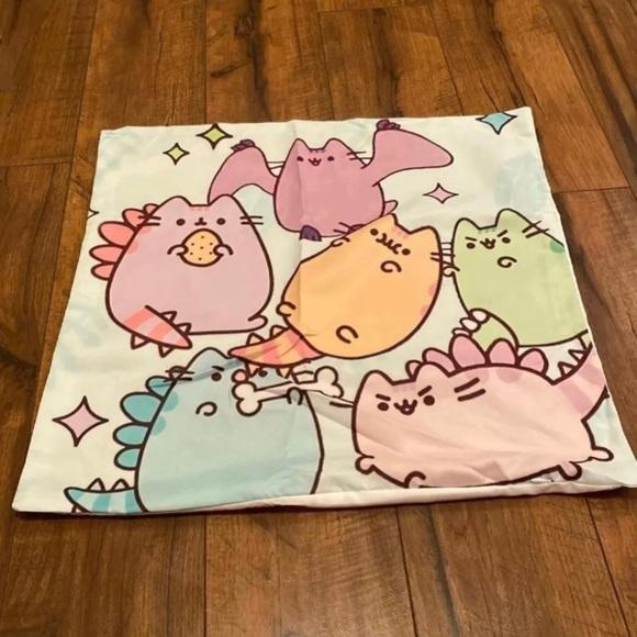 Adorable super soft pusheen pillow case  Dinosaurs